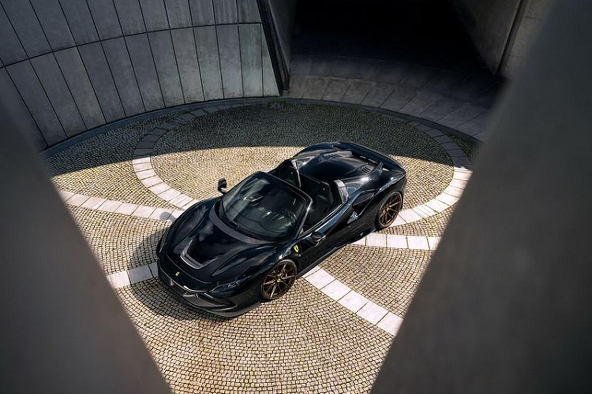Ferrari F8 Spider nhe, manh hon nho bodykit carbon cua Novitec-Hinh-2