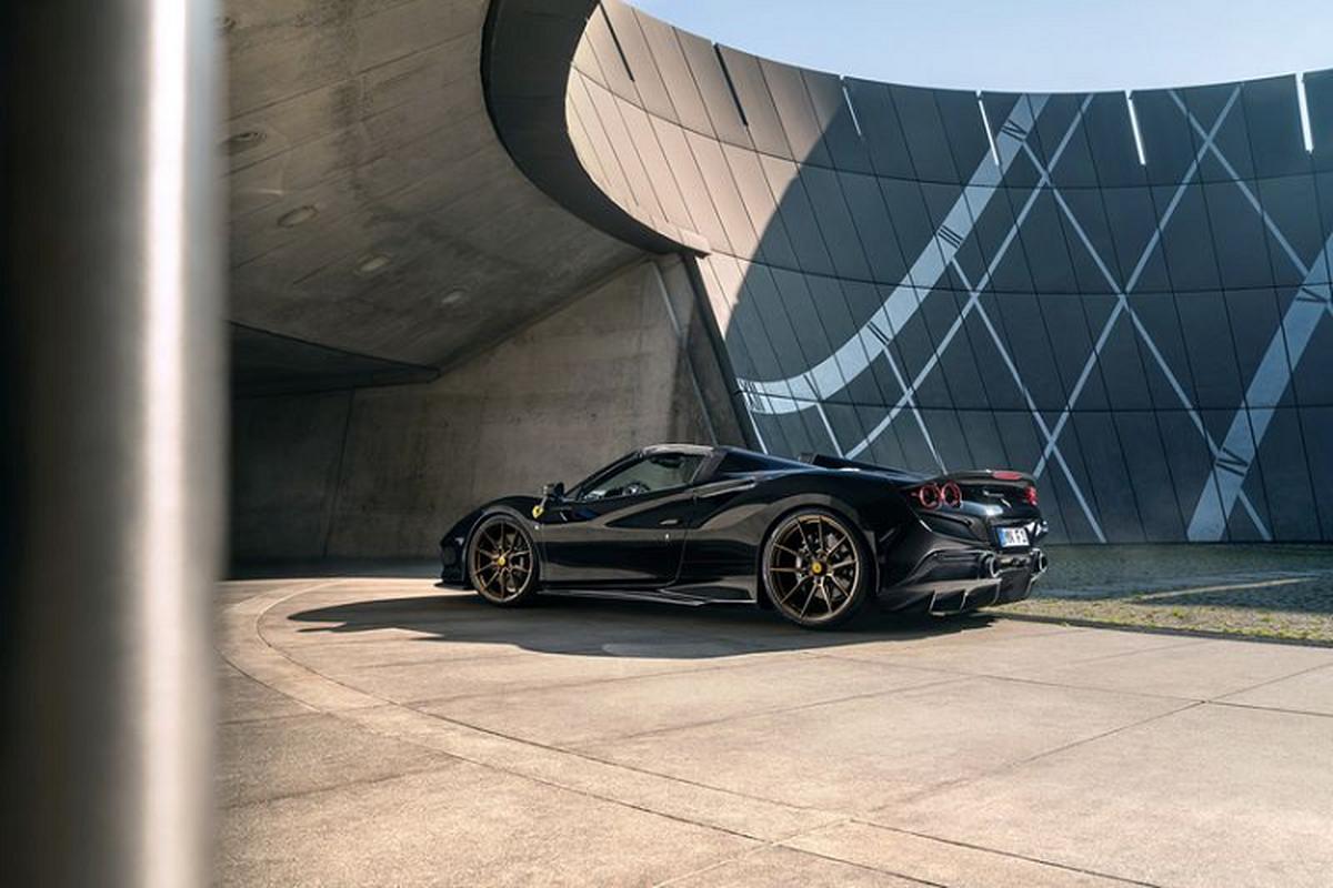 Ferrari F8 Spider nhe, manh hon nho bodykit carbon cua Novitec-Hinh-4