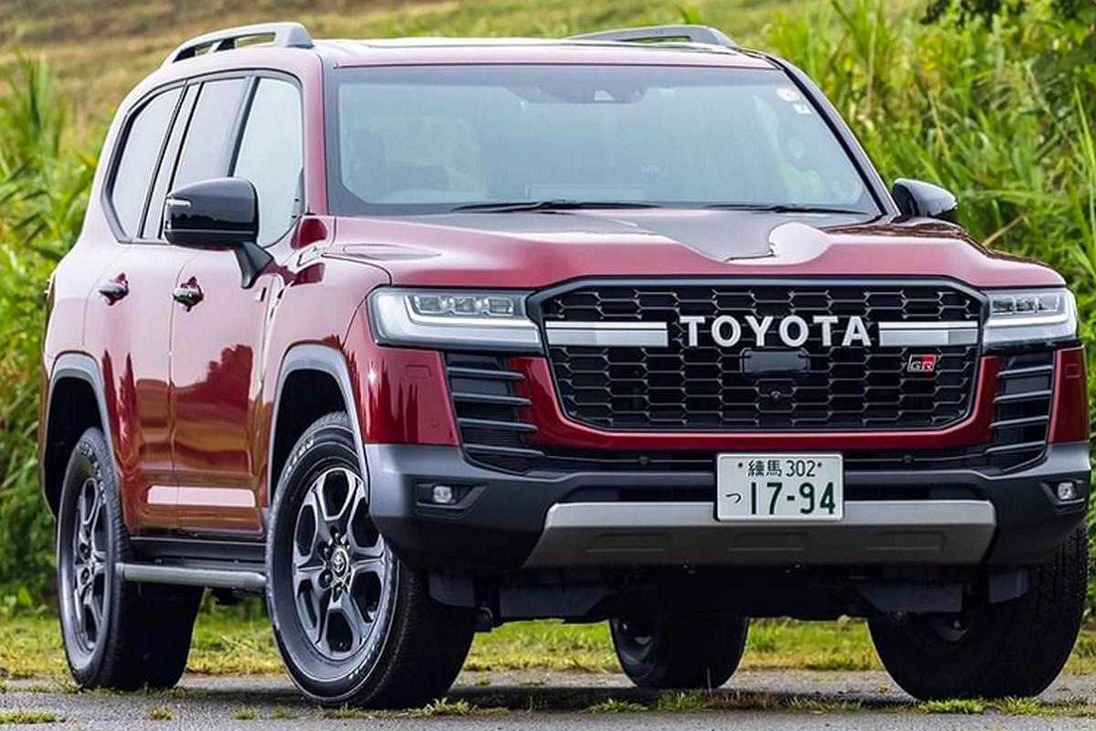 Toyota Land Cruiser GR Sport tu 1,61 ty dong, SUV chuyen offroad