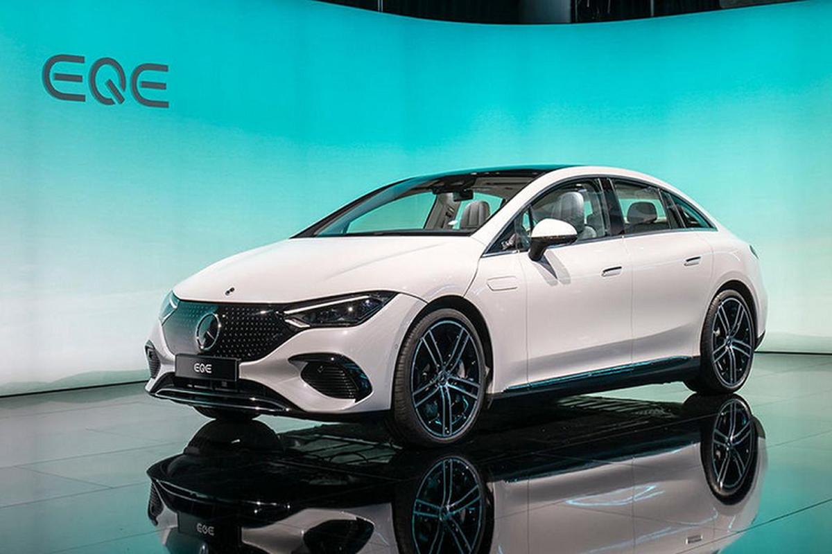 Mercedes-Benz EQE, EQB hang sang chay dien sap ban tai Viet Nam