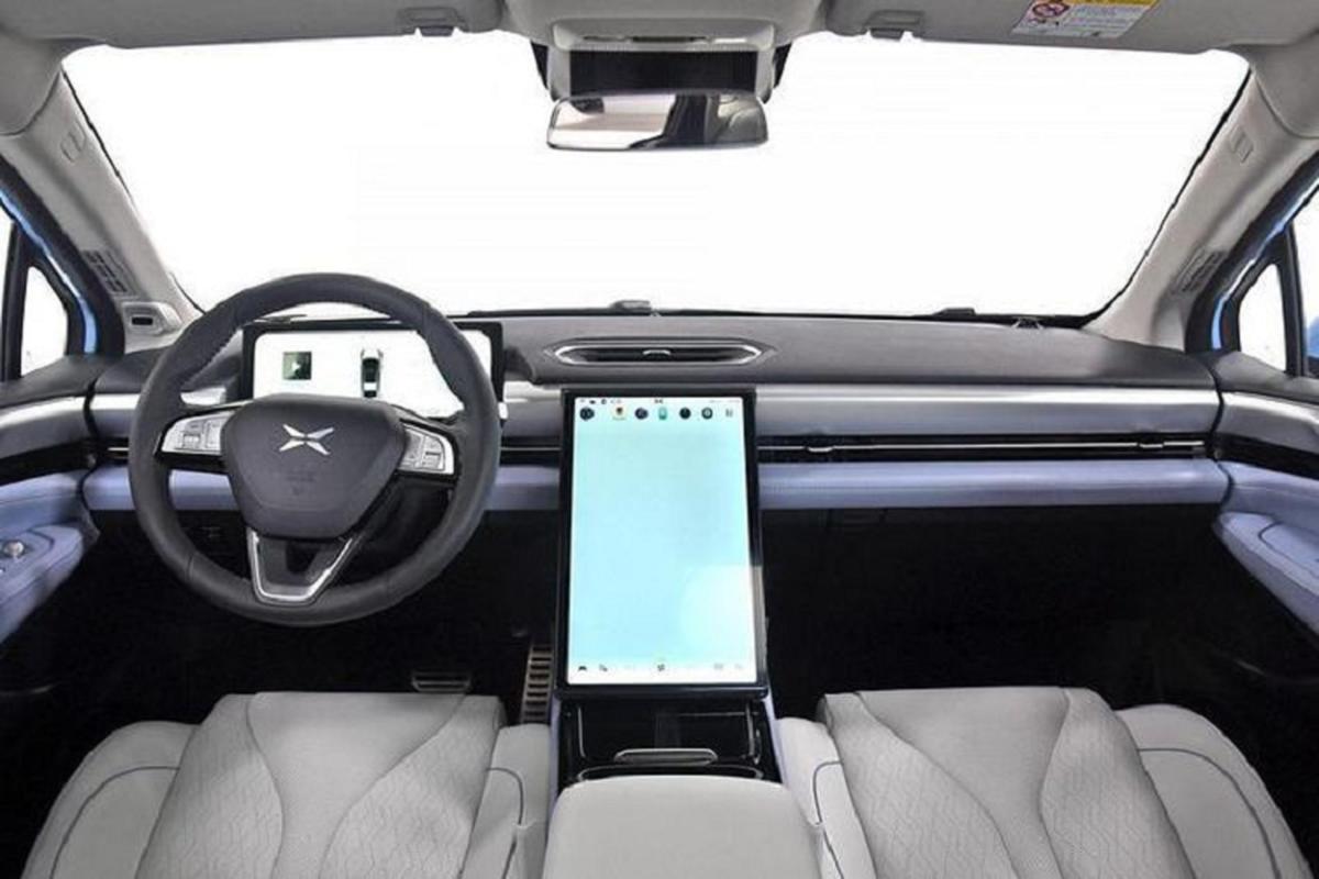 Xpeng P5 2021 - Doi thu Tesla Model 3 chi tu 556 trieu dong-Hinh-4