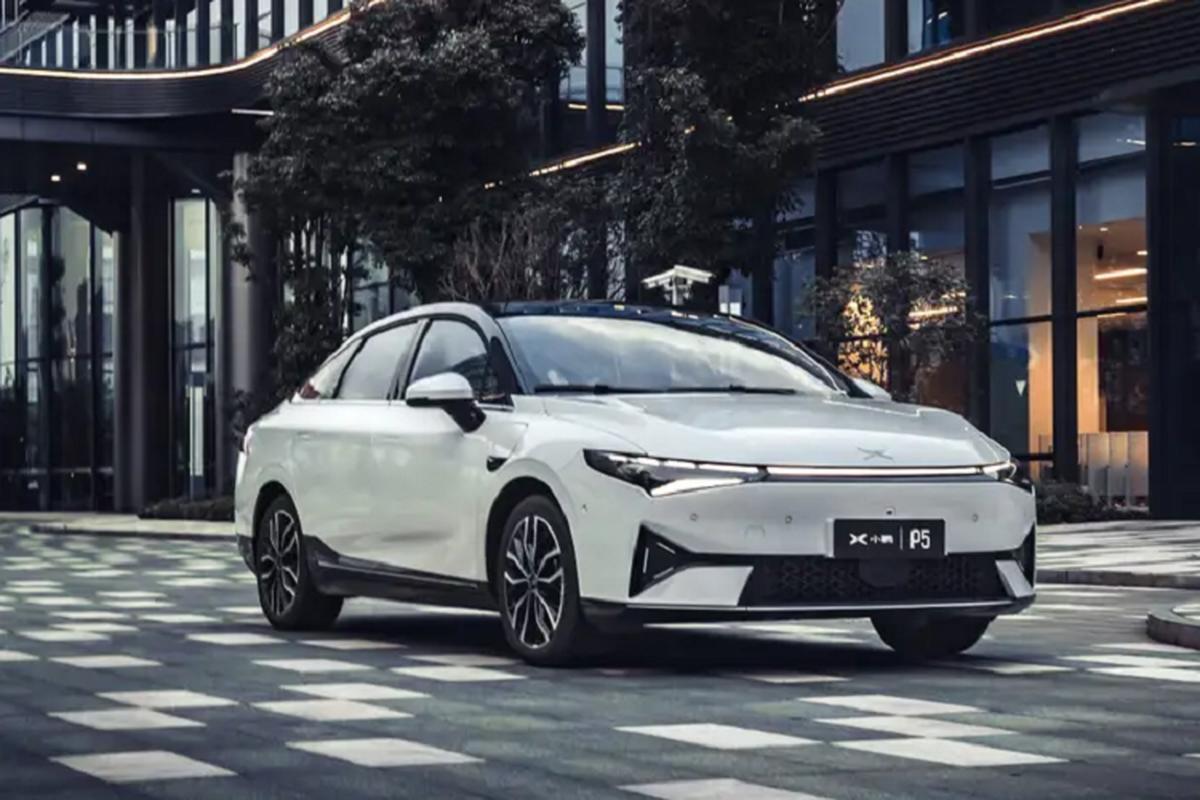 Xpeng P5 2021 - Doi thu Tesla Model 3 chi tu 556 trieu dong-Hinh-6