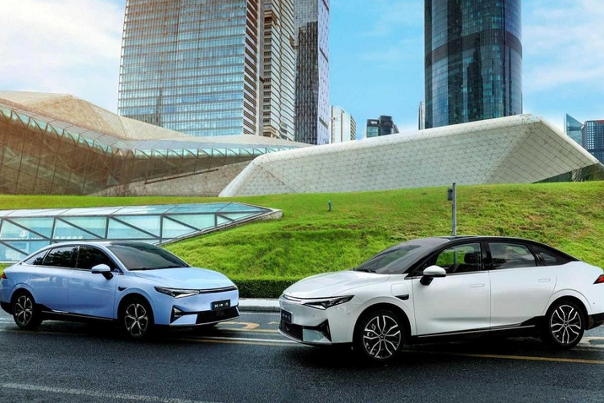 Xpeng P5 2021 - Doi thu Tesla Model 3 chi tu 556 trieu dong-Hinh-7