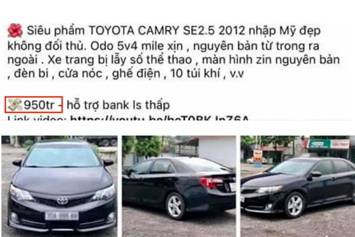 Toyota Camry nhap My chay 9 nam, ban gan 1 ty dong o Ha Noi-Hinh-3