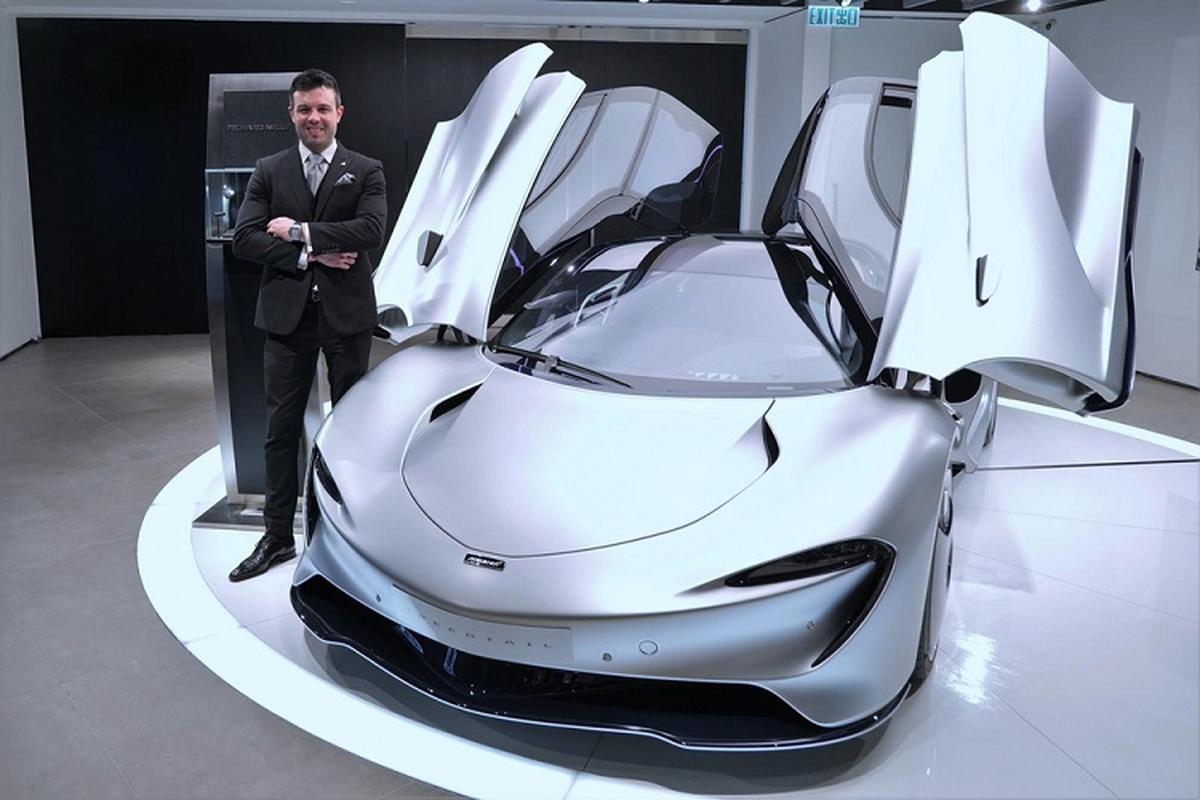McLaren Speedtail phien ban 6 chiec ve Hong Kong, gia tu 81 ty dong