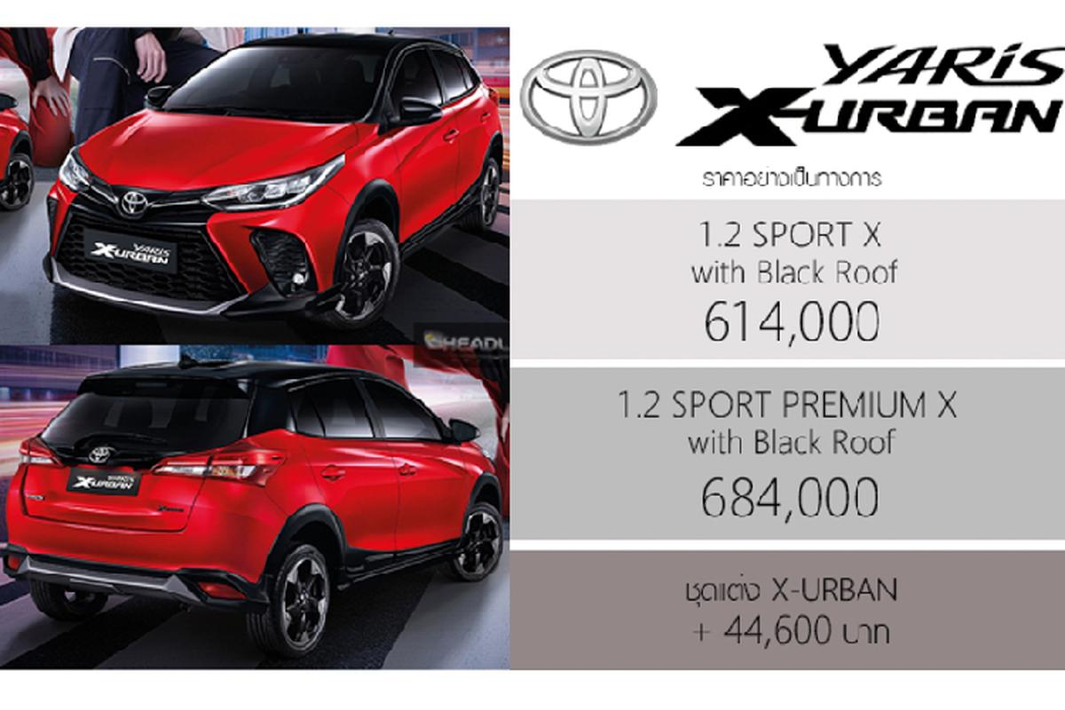 Toyota Yaris X-Urban 2022 - crossover nang dong tu 419 trieu dong-Hinh-2