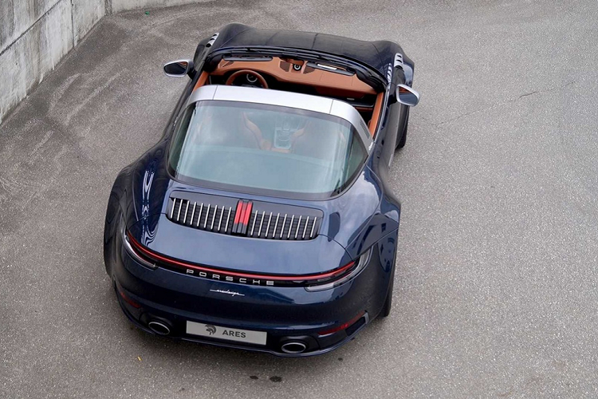 Ngam Porsche 911 Targa so huu goi do than rong doc nhat the gioi-Hinh-2
