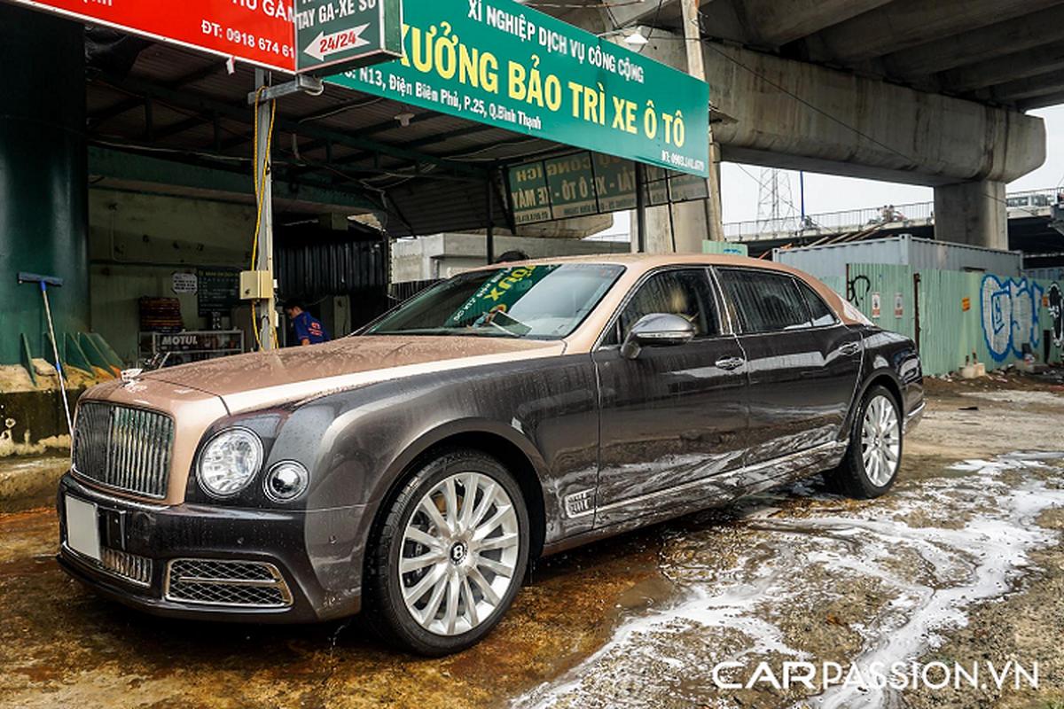 Chiec Bentley Mulsanne EWB nay khong duoi 30 ty tai Sai Gon-Hinh-4
