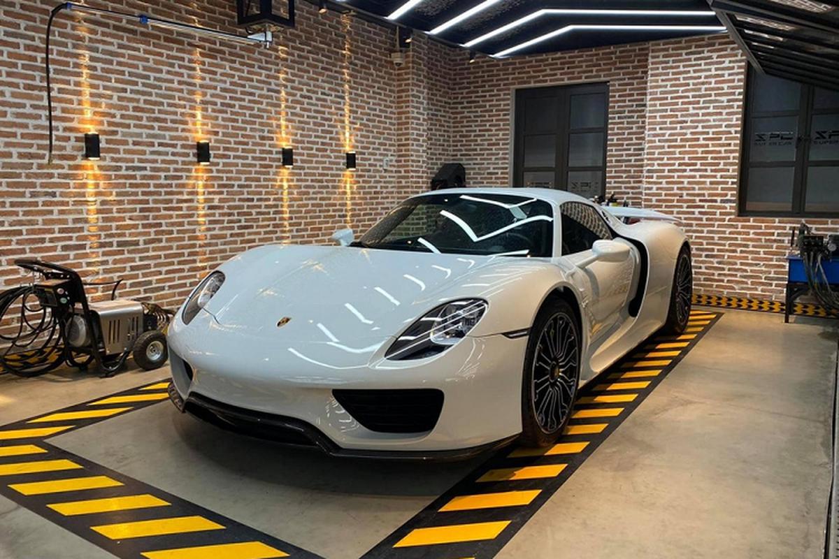 Porsche 918 Spyder hon 60 ty cua nu 9X Sai Gon ve Go Vap