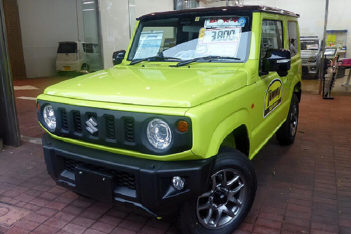Suzuki Jimny 2022 cap ben Malaysia, cho ngay ve Viet Nam-Hinh-5