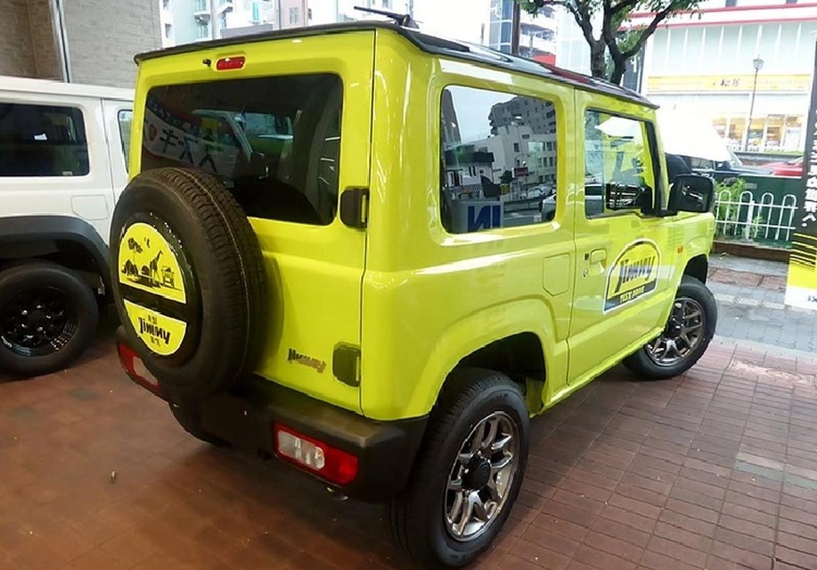 Suzuki Jimny 2022 cap ben Malaysia, cho ngay ve Viet Nam-Hinh-7