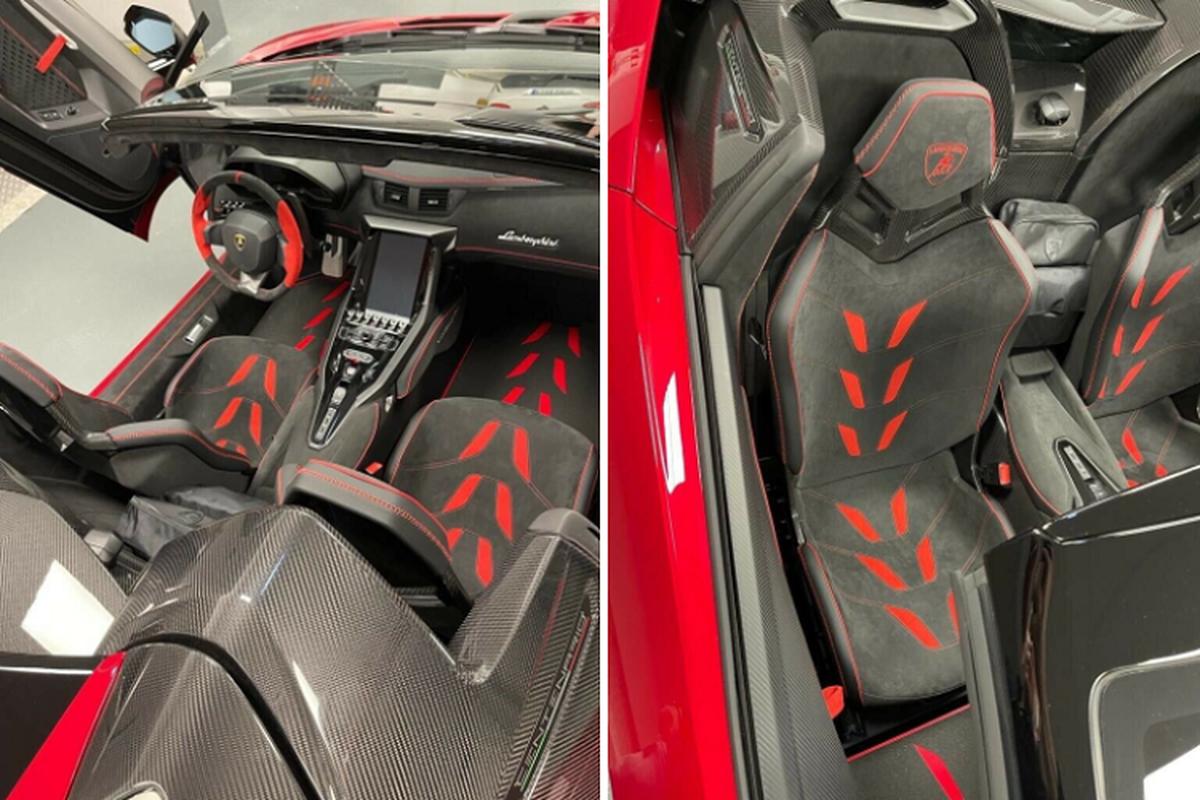 Sieu xe Lamborghini Centenario Roadster rao ban toi 126,7 ty dong-Hinh-4