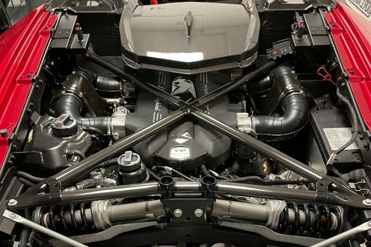 Sieu xe Lamborghini Centenario Roadster rao ban toi 126,7 ty dong-Hinh-7