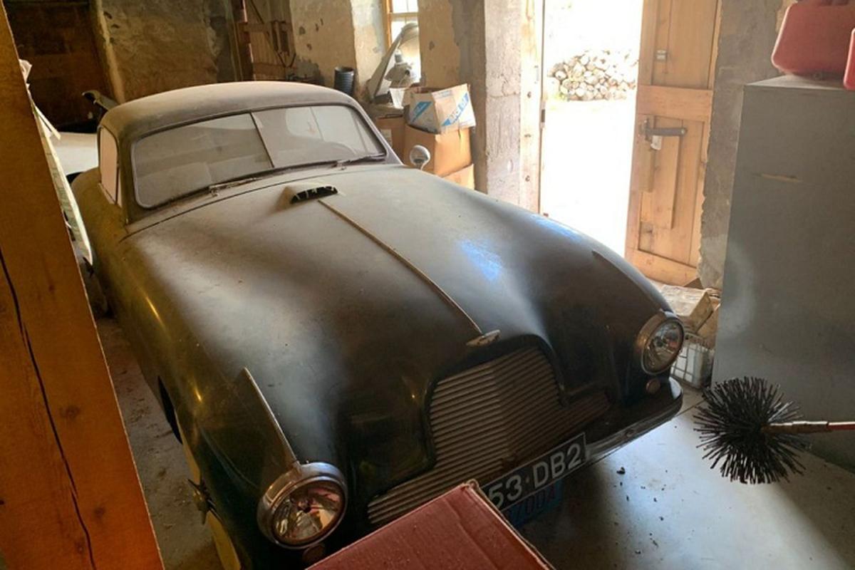 Aston Martin DB2 1953 cu ky,