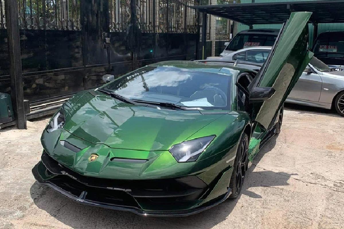 Lamborghini Aventador SVJ hon 50 ty cua dai gia Cu Chi o Ha Noi-Hinh-10