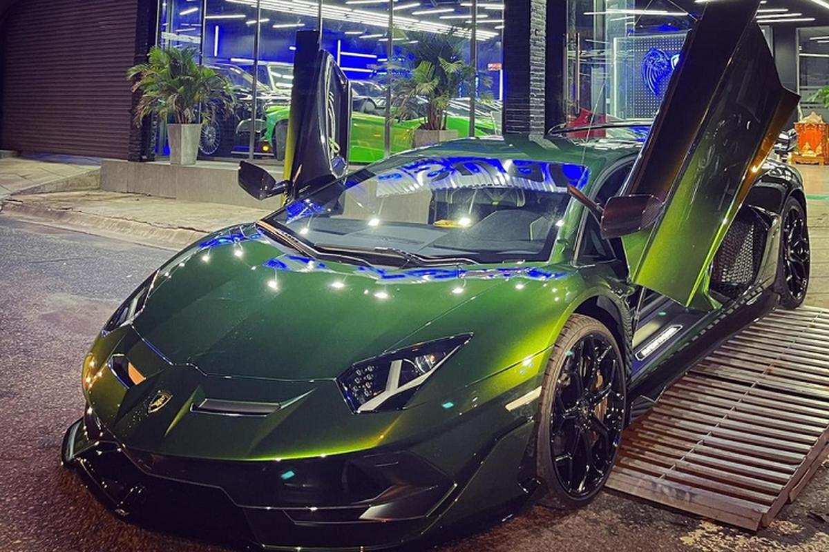 Lamborghini Aventador SVJ hon 50 ty cua dai gia Cu Chi o Ha Noi-Hinh-2