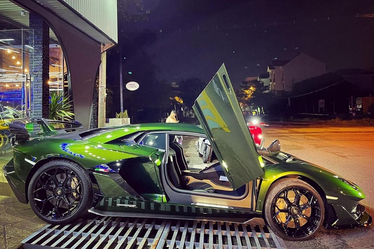 Lamborghini Aventador SVJ hon 50 ty cua dai gia Cu Chi o Ha Noi-Hinh-3