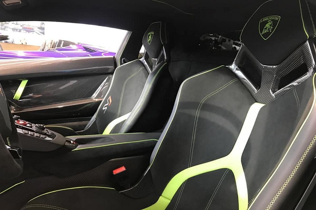 Lamborghini Aventador SVJ hon 50 ty cua dai gia Cu Chi o Ha Noi-Hinh-5