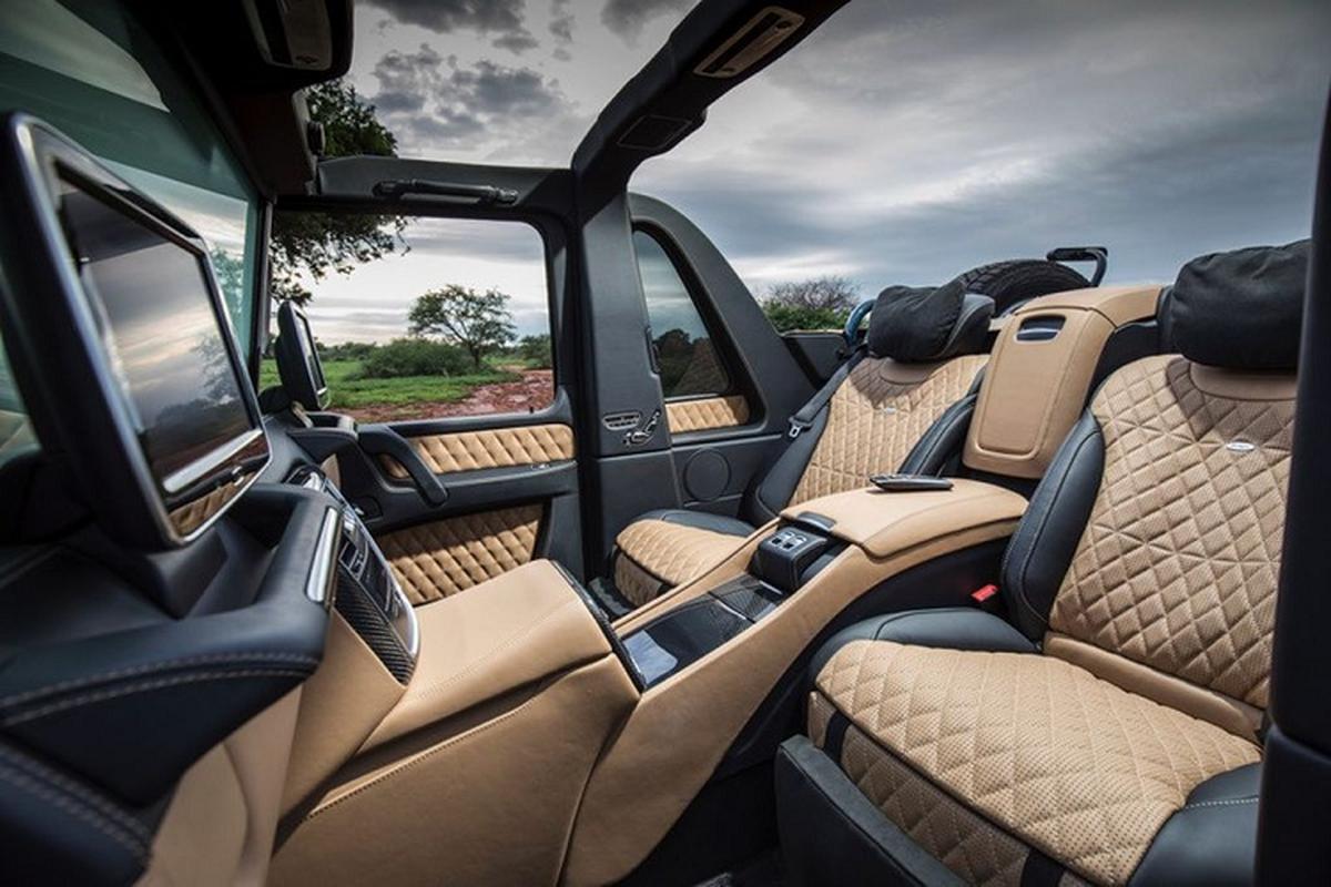 Mercedes-Maybach G650 Landaulet more than 16 years old,