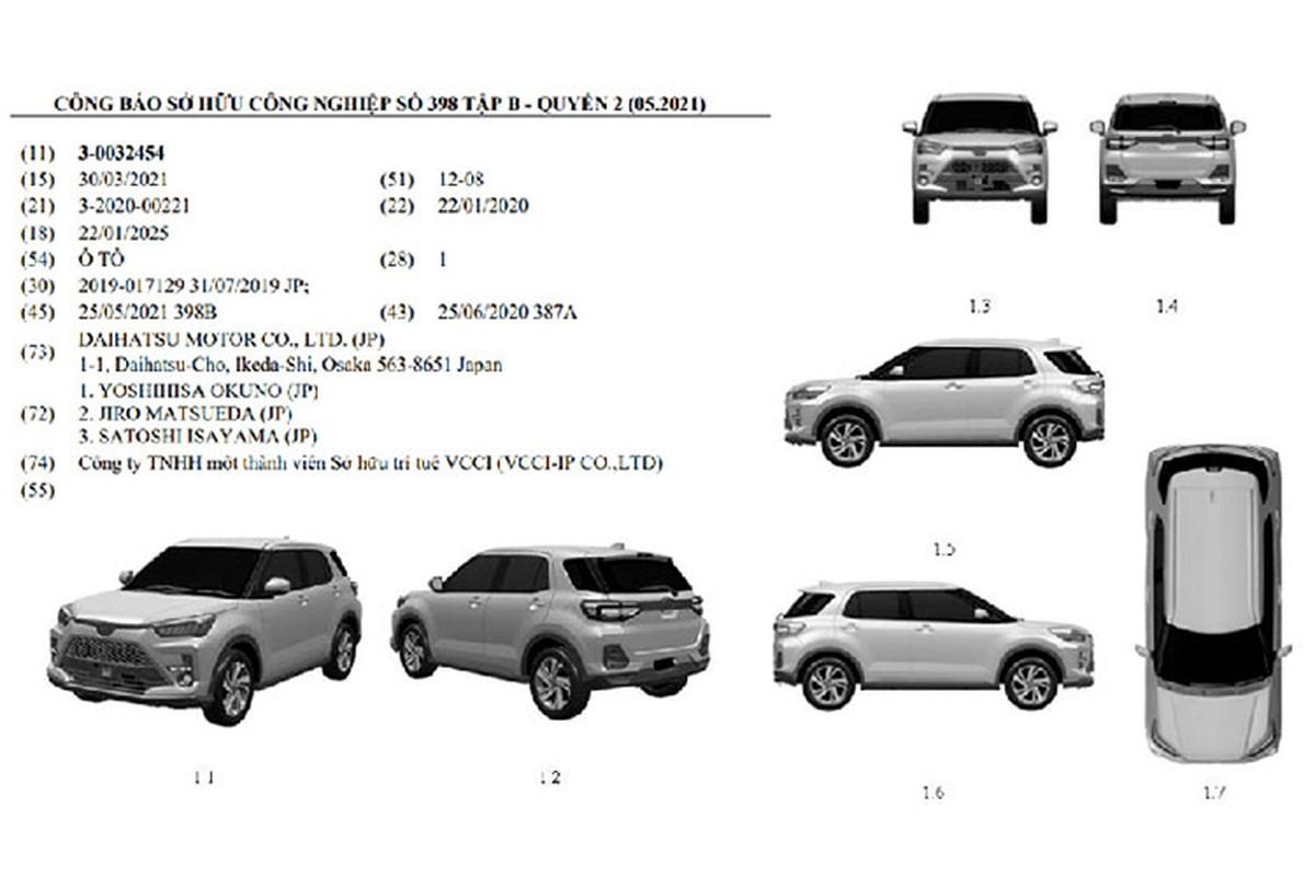 Toyota Raize 2022 sap ve Viet Nam, du kien hon 500 trieu dong-Hinh-2