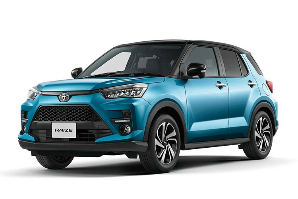 Toyota Raize 2022 sap ve Viet Nam, du kien hon 500 trieu dong-Hinh-3