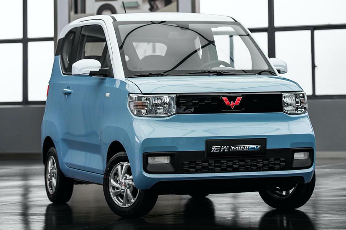Xe oto gia 100 trieu dong - Wuling Hongguang Mini EV ban chay ky luc-Hinh-8