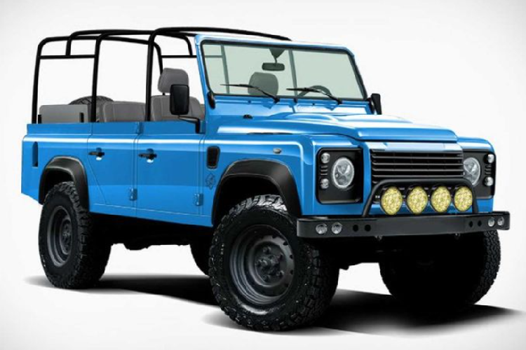 Function Defender - SUV dung khung Jeep Wrangler tu 3,3 ty dong