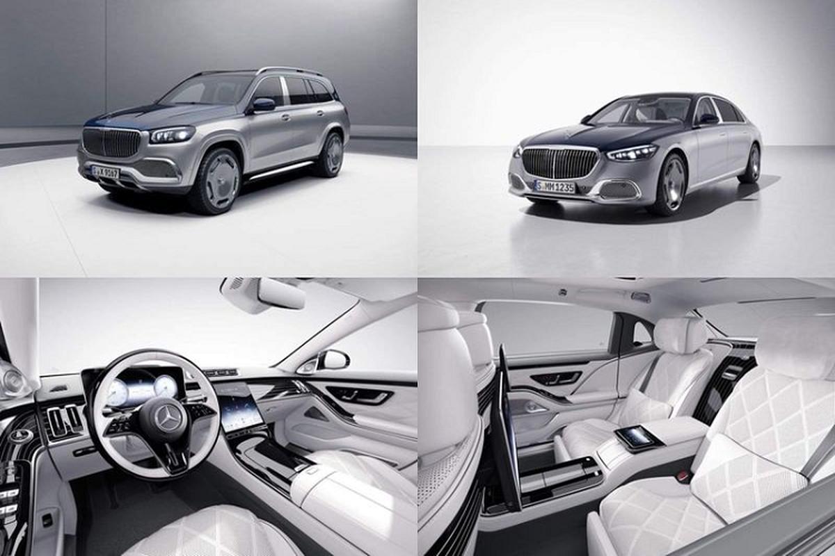 Ra mat Mercedes-Maybach S-Class va GLS sieu sang ky niem 100 nam
