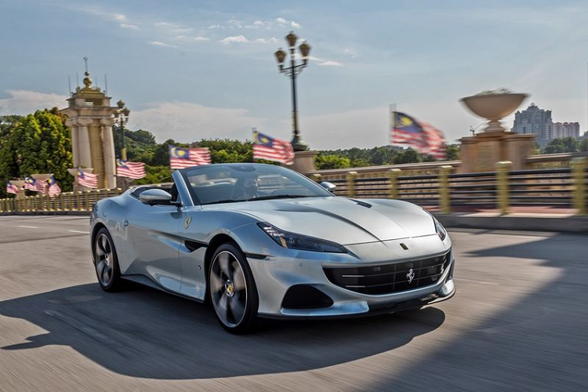 Ferrari Portofino M tu 5,4 ty dong tai Malaysia, sap ve Viet Nam