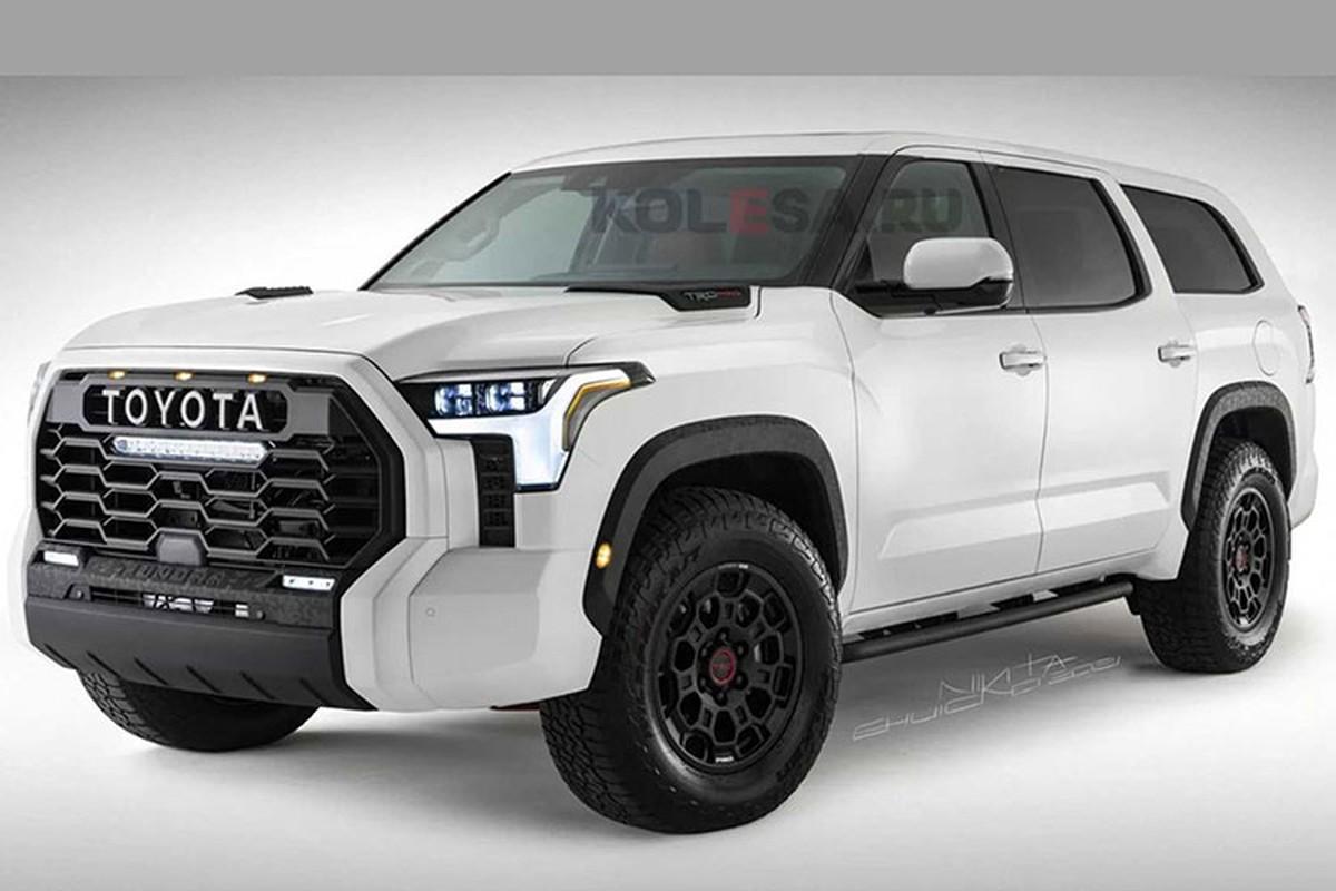 Toyota Sequoia 2022 moi lay cam hung tu sieu ban tai Tundra-Hinh-2