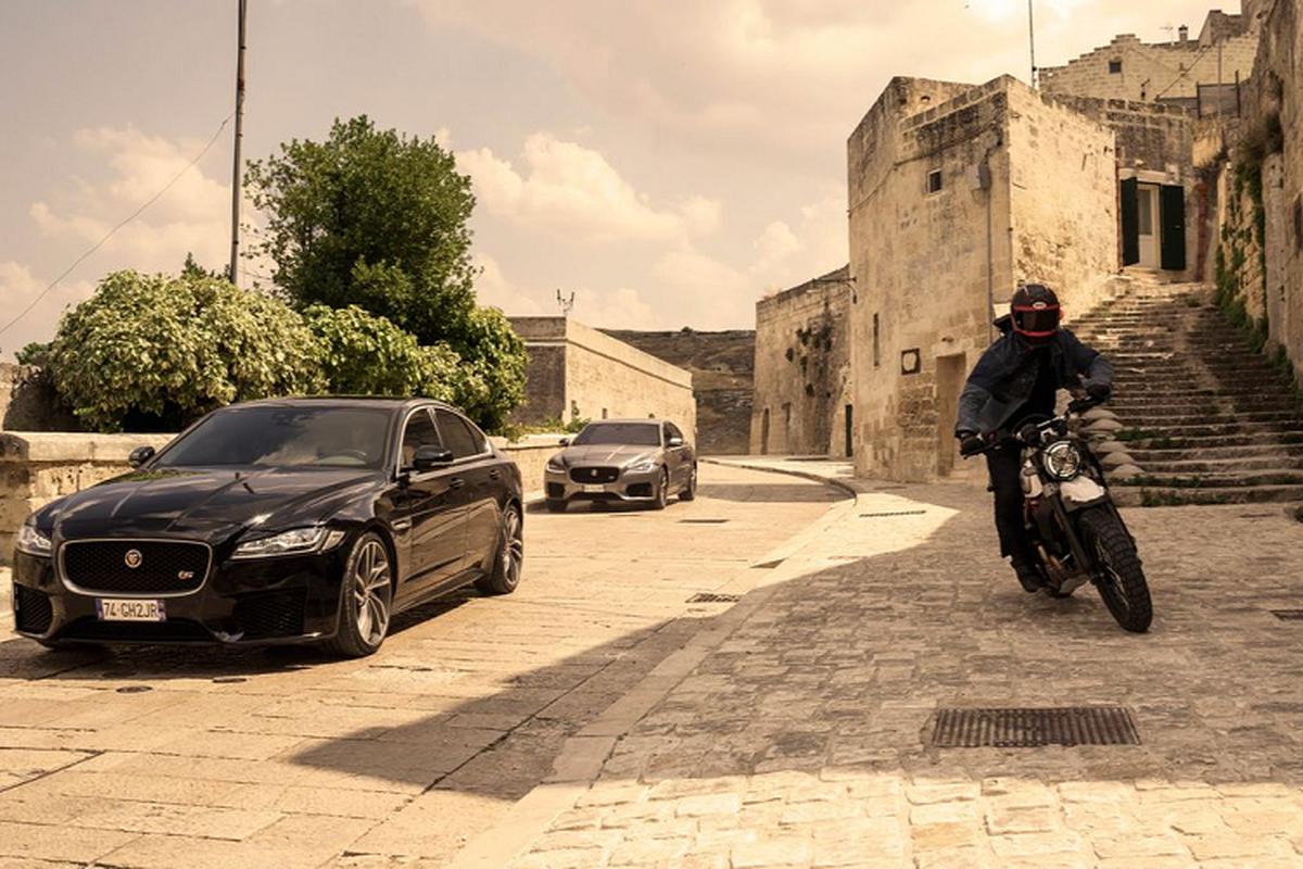 "Jaguar XF lan dau ket hop voi diep vien 007 trong ""No Time To Die'""-Hinh-7"