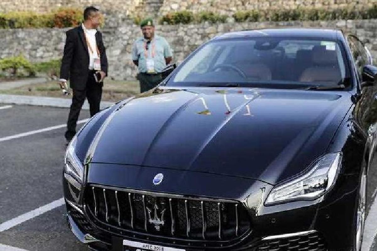 Dan xe sang Maserati APEC 2018 - thanh ly 3 nam, ban duoc 2 chiec-Hinh-8