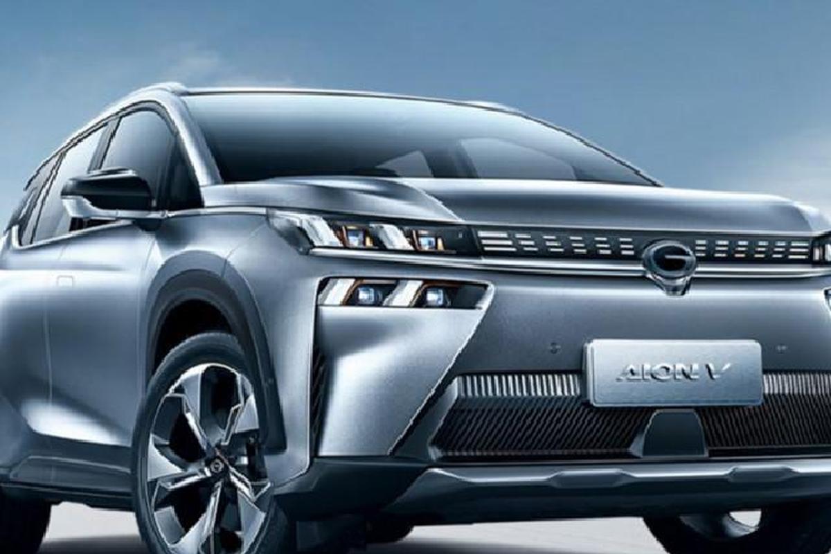 GAC Aion V - xe dien Trung Quoc sac 0-80% chi 8 phut, chay 1000km-Hinh-4