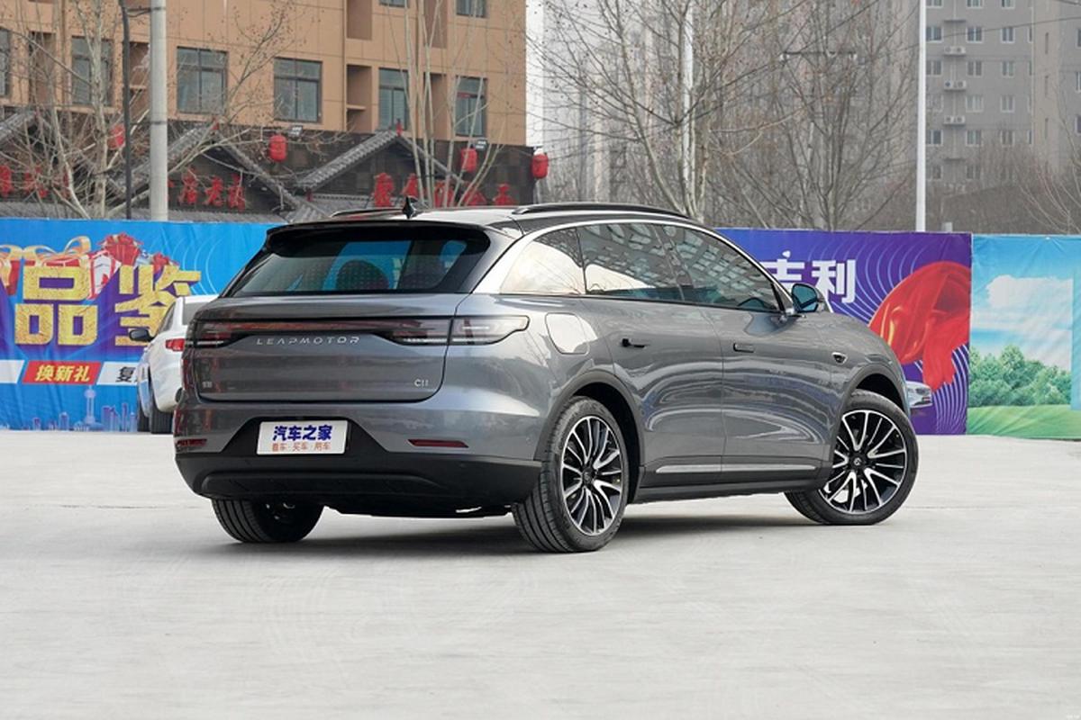 Leap C11 - SUV dien 5 cho cua Trung Quoc chi tu 564 trieu dong-Hinh-4