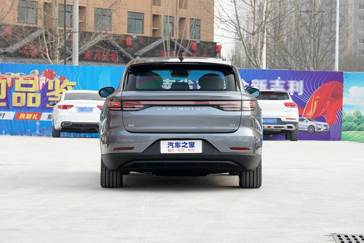 Leap C11 - SUV dien 5 cho cua Trung Quoc chi tu 564 trieu dong-Hinh-7