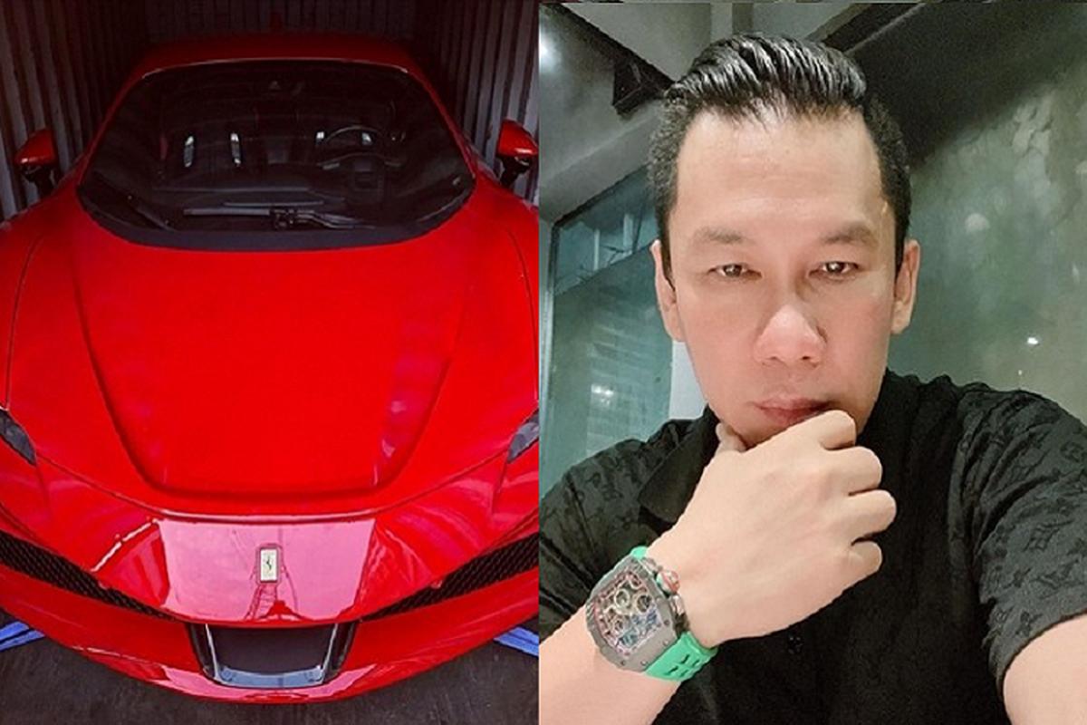 Chong cu cua Le Quyen chia se ve Ferrari SF90 Stradale 30 ty dong