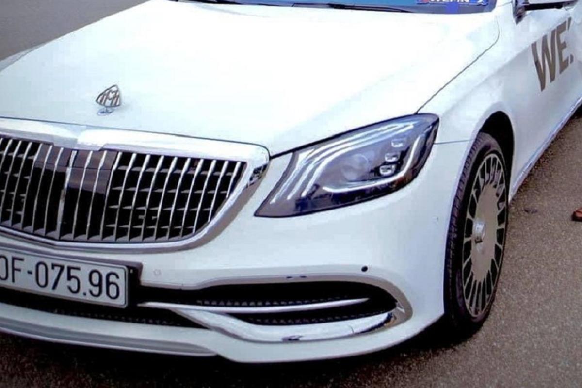 """Chiec xe sang Mercedes-Benz S-Class """"do"""" Maybach cua Hoang Tu Gio-Hinh-5"""