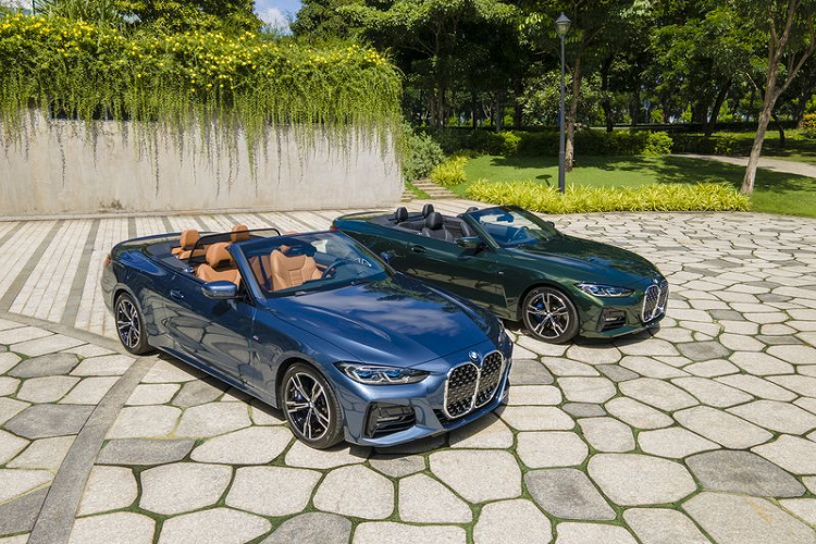 Can canh BMW 4 Series Convertible 2021 tien ty tai Viet Nam-Hinh-2