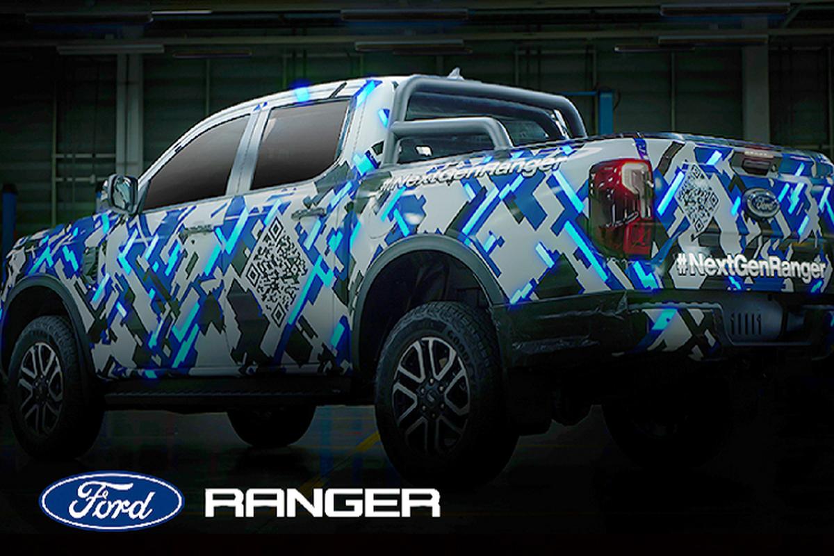 "Ford tiep tuc ""nha hang"" Ranger 2022 moi, thiet ke dep mat hon"