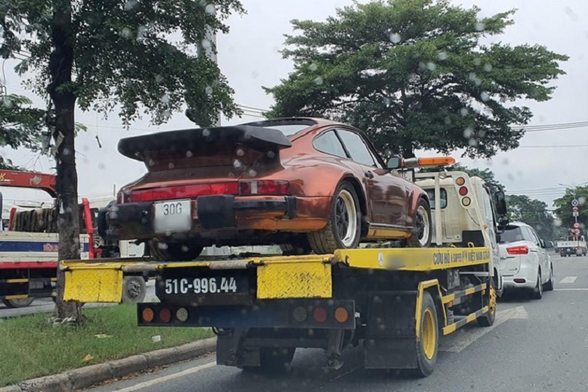 Chiec Porsche 930 Turbo hang hiem cua dai gia xe co Sai Gon