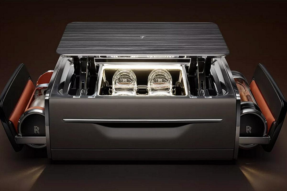 Rolls-Royce Cellarette - ruong dung ruou Whisky va xi ga cuc sang-Hinh-4