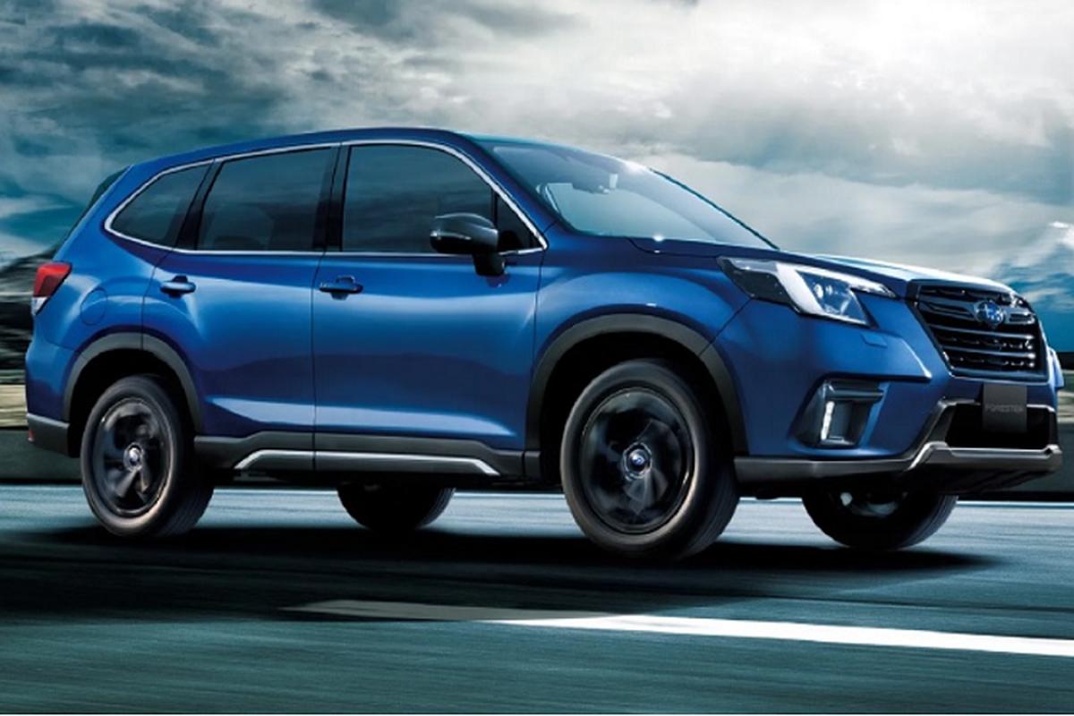 Subaru Forester 2023 tiet kiem xang dung cong nghe hybrid Toyota?