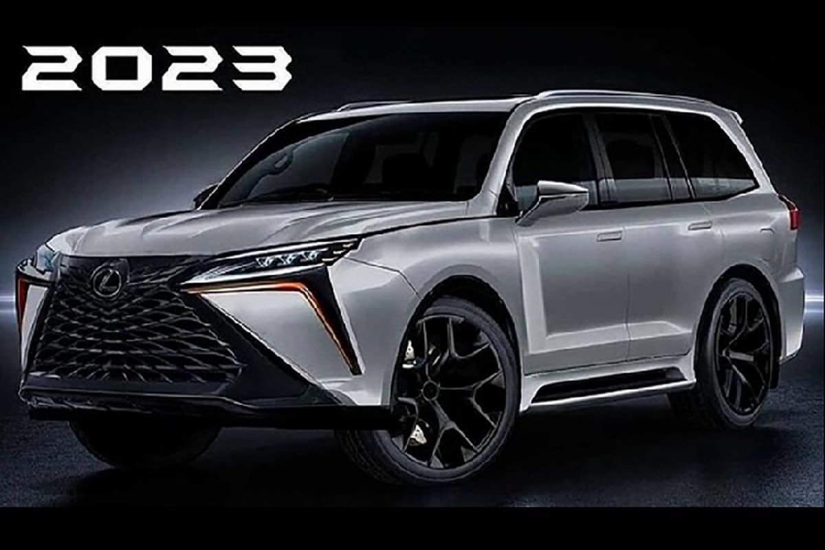 """Chuyen co mat dat"" Lexus LX 2022 he lo nhung hinh anh dau tien-Hinh-4"