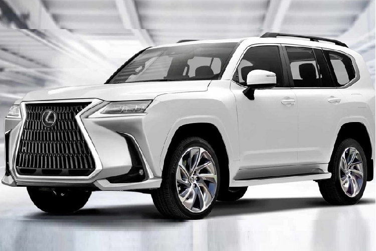 """Chuyen co mat dat"" Lexus LX 2022 he lo nhung hinh anh dau tien-Hinh-8"