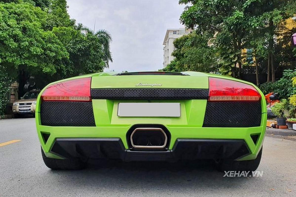 """Bo gia"" Lamborghini Murcielago xanh com kich doc dao pho Sai Gon-Hinh-4"
