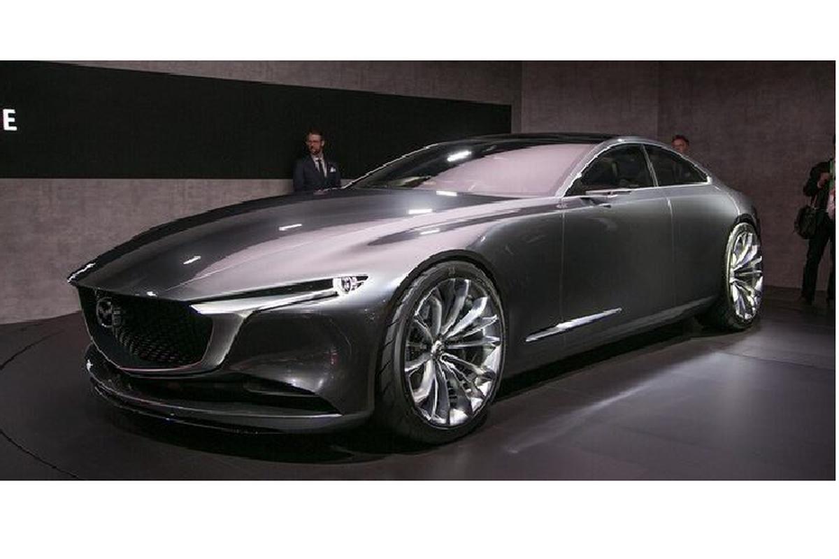 Mazda6 2022 se so huu dong co 6 xi-lanh, he dan dong cau sau?-Hinh-4