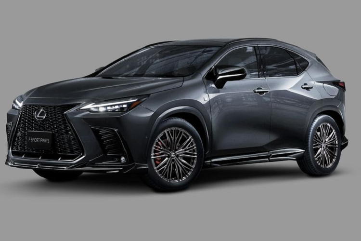 "Lexus NX 2022 ""ha guc"" khach mua kho tinh voi phu kien TRD"