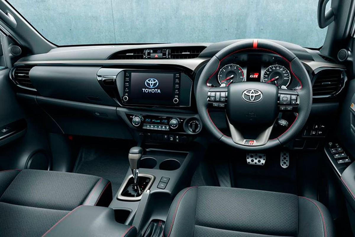 Chi tiet Toyota Hilux GR Sport 2022, tu 868 trieu dong tai Nhat Ban-Hinh-5