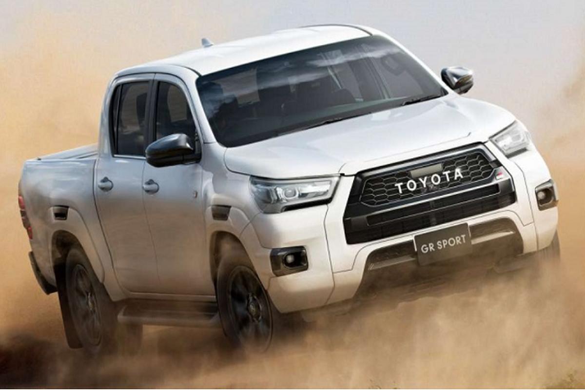 Chi tiet Toyota Hilux GR Sport 2022, tu 868 trieu dong tai Nhat Ban