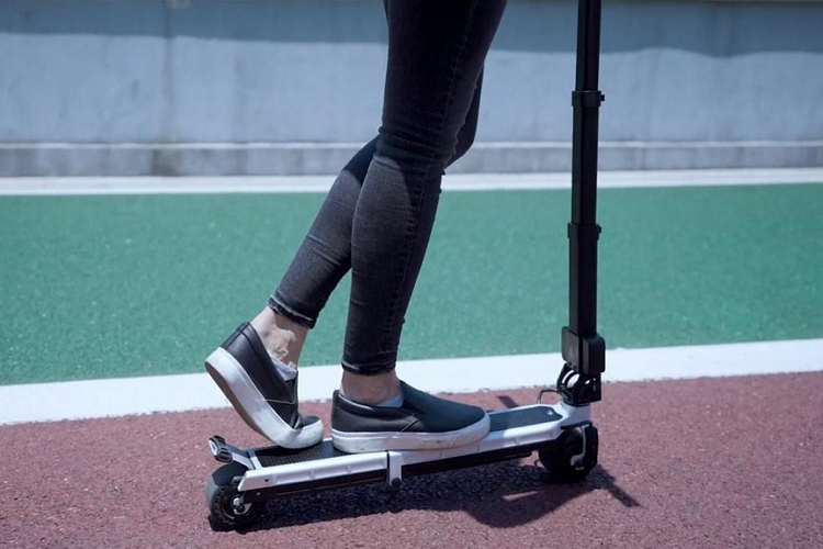 Blizwheel E-Scooter - the smallest diesel scooter in the world, costing 300 USD-Picture-4